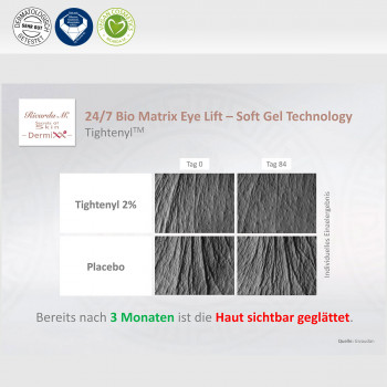 24/7 Biomatrix Eye Lift , Augencreme Tightenyl Eigenschaften Hautglättung
