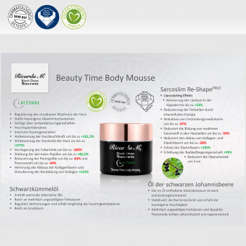 Körpercreme BDS Beauty Time Body Mousse Vorteile