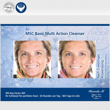 MSC Basic Mutli Action Cleanser Hautveränderung