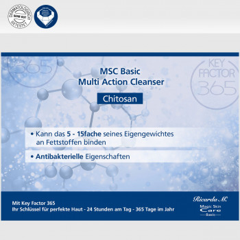 MSC Basic Mutli Action Cleanser Chitin