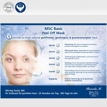 MSC Basic Peel Off Mask Vorteile