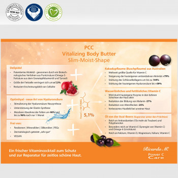 Vitalizing Body Butter, Slim-Moist-Shape, Wirkung