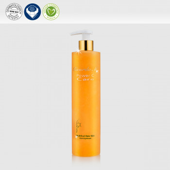 Multifruit New Skin Cleansing Mousse, orangefarbener Spender