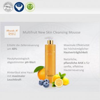Multifruit New Skin Cleansing Mousse, Wirkung