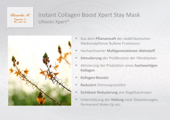 Instant Collagen Boost Xpert Stay Mask, Liftonin Xpert, Wirkung