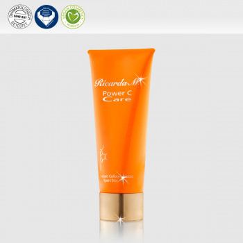 Instant Collagen Boost Xpert Stay Mask, Gesichtsmaske, orangefarbene Tube