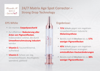 24/7 Matrix Age Spot Corrector, Strong Drops Technology, Wirkung, Ergebnisse