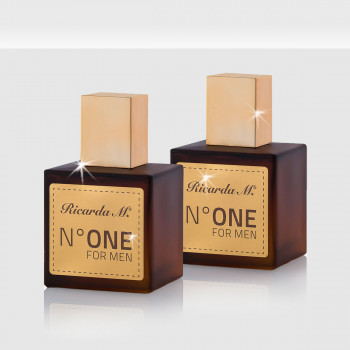 N°1 Men EdP Duo, Herrenduft, braun/goldene Flakons