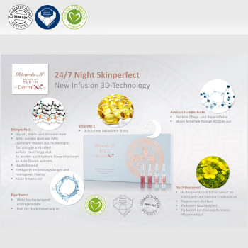 24/7 Night Skinperfect, New Infusion 3D-Technology, Wirkung