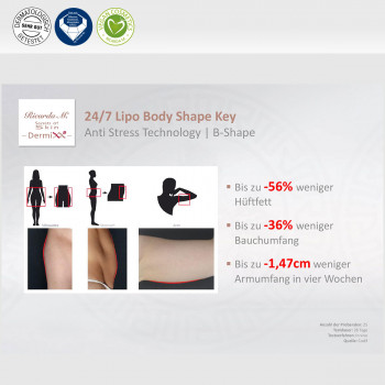 24/7 Lipo Body Shape Key, Anti Stress Technology, Verringerung