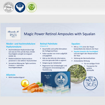 MSC Basic Magic Power Retinol Ampoules Vorteile von Sqalan