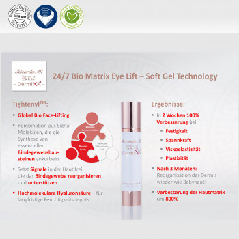24/7 Biomatrix Eye Lift - Soft Gel Technology, Tightenyl, Ergebnisse