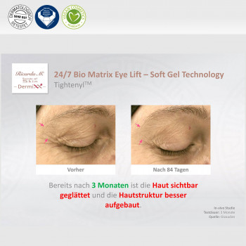 24/7 Biomatrix Eye Lift - Soft Gel Technology, Tightenyl, Verbesserung