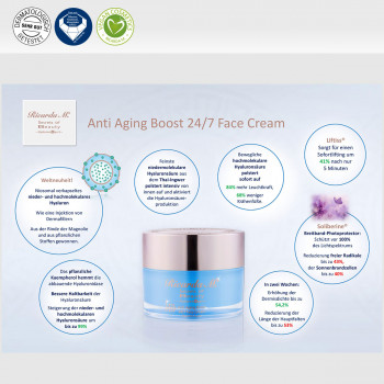Anti Aging Boost 24/7 Face Cream, Inhalt, Wirkung