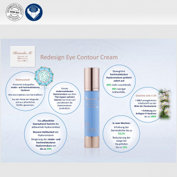 Redesign Eye Contour Cream, Inhalt, Wirkung