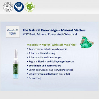 Vorteil Natural Knowledge Mineral Matters Anti Oxiradical