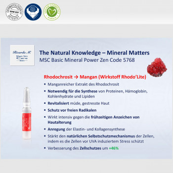 Vorteil Natural Knowledge Mineral Matters Power Zen Code 5768