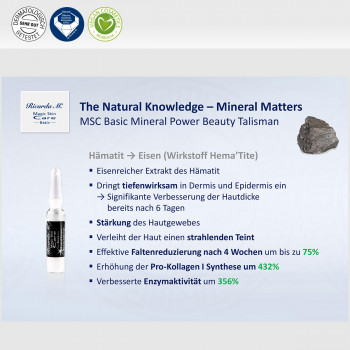 Vorteil Natural Knowledge Mineral Matters Power Beauty Talisman