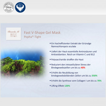Fast V-Shape Gel Mask, Pepha-Tight, Wirkung, Verbesserung