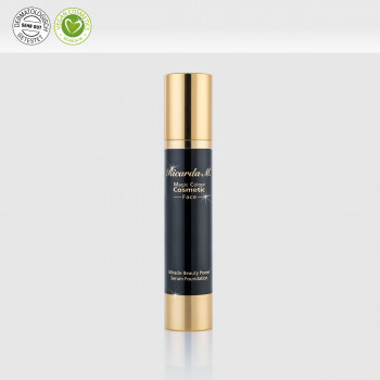 Miracle Beauty Power Serum Foundation, Gesichtsgrundierung, Airlessspender