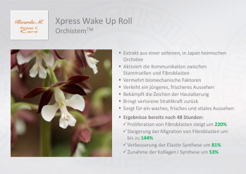 Xpress Wake Up Roll, Orchistem, Wirkung