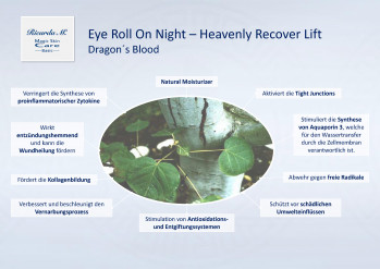Eye Roll On Night Heavenly Recover Lift, Dragons Blood