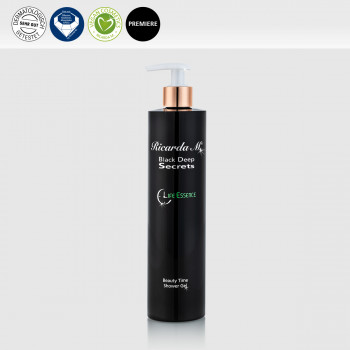 BDS Beauty Time Shower Gel 400ml Pumpspender, Vegan, Diamant und Dermatoligisch getestet, Premiere