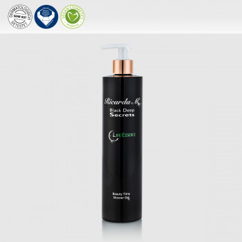 BDS Beauty Time Shower Gel 400ml Pumpspender, Vegan, Diamant und Dermatoligisch getestet