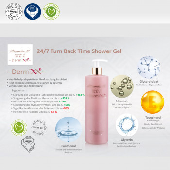 Duschgel 24/7 Turn Back Time Shower Gel Pumpspender Vorteile