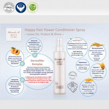 Happy Hair Power Conditioner Spray Allgemeine Vorteile