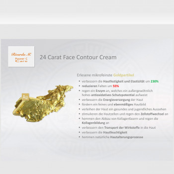PCC 24 Carat Face Contour Cream – Natural Skin Architect - Colloidales Gold Vorteile