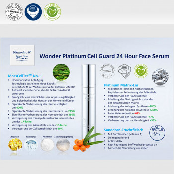 Gesichtsserum MSc Platinum Cell Guard 24 Hour Face Serum Vorteile