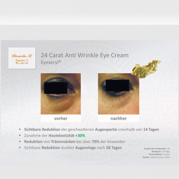 24 Carat Anti Wrinkle Eye Cream Vortiel 3