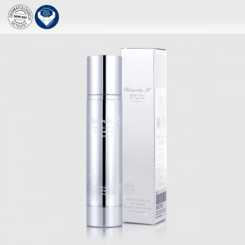 Gesichtsserum MSc Platinum Cell Guard 24 Hour Face Serum Pumpspender mit Verpackung