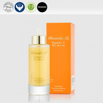PCC Overnight Face Remodelling Concentrate mit Verpackung