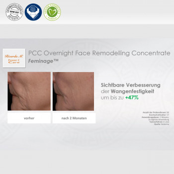 PCC Overnight Face Remodelling Concentrate Verbesserung Wangenfestigkeit