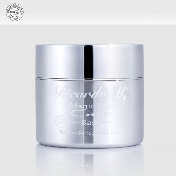 Körpercreme MSC Platinum Body Cream Tiegel