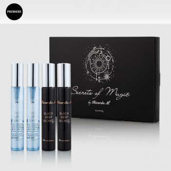 WOS Touch of Magic Flakons Black Deep Secret und Touch of Magic inklusive Verpackung und Premierebutton
