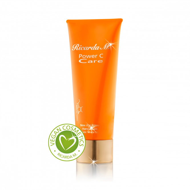 New Age Xpress Hand Cream, Handcreme, orangefarbene Tube , vegan cosmetics