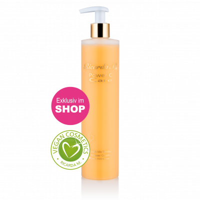 Touch Me Tender Shower Cream, Clean, -Moist & Boost, Duschgel, Spender Orange, Vegan Cosmetics