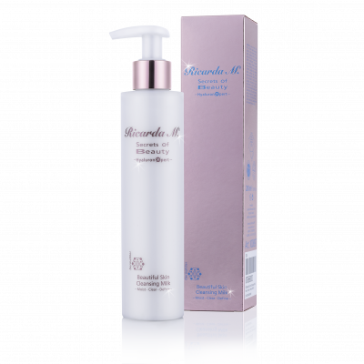Beautiful Skin Cleansing Milk, 200ml, Flasche, Verpackung