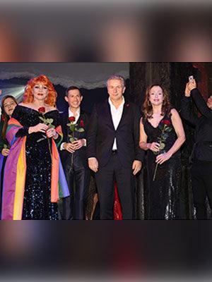 AIDS Gala 2013 mit Ricarda M.