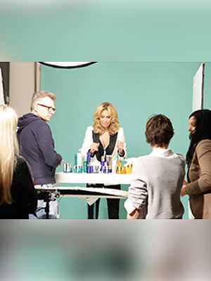 Channel 21 Fotoshooting mit Ricarda M.