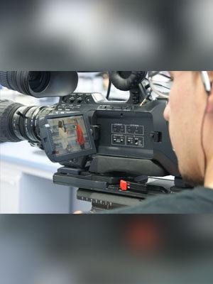 Ricarda M. beim Videodreh 2013