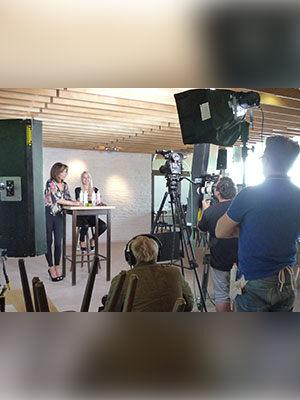 Ricarda M. Videodreh 2014