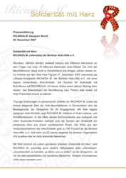 Ricarda M. Solidarität mit Herz
