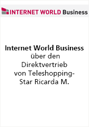 Ricarda M. Internet World Business berichtet über Direktvertrieb