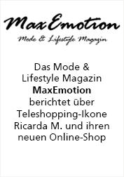 Ricarda M. Max Emotion berichtet über Online-Shop