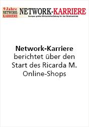 Ricarda M. Network-Karriere berichtet über Start des Online-Shop