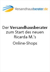 Ricarda M. Versandhausberater über Start des neuen Online-Shop